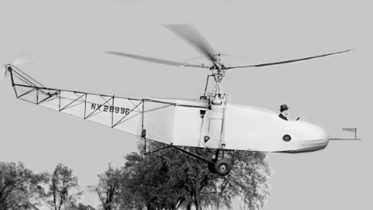 Sikorsky VS 300 helicopter flight May 13 1940