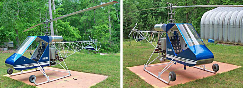 Single seat commuter one helicopter kit