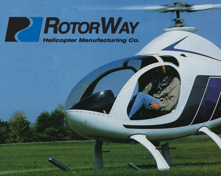 Two seat Rotorway Exec 90 helicopter kit build