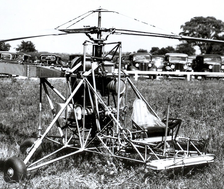 VS 300 helicopter