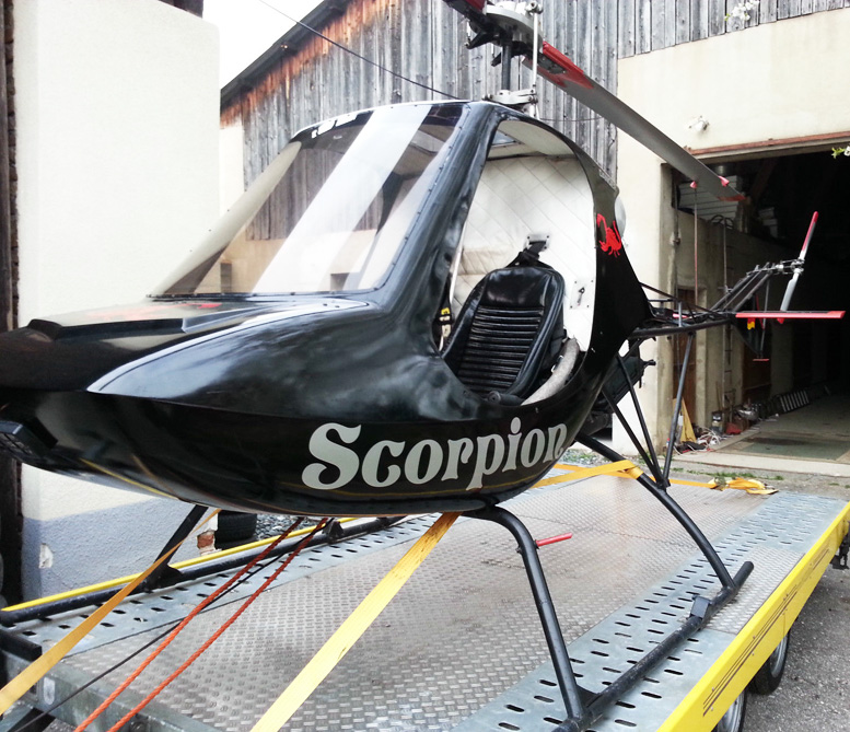 diy helicopter two seats