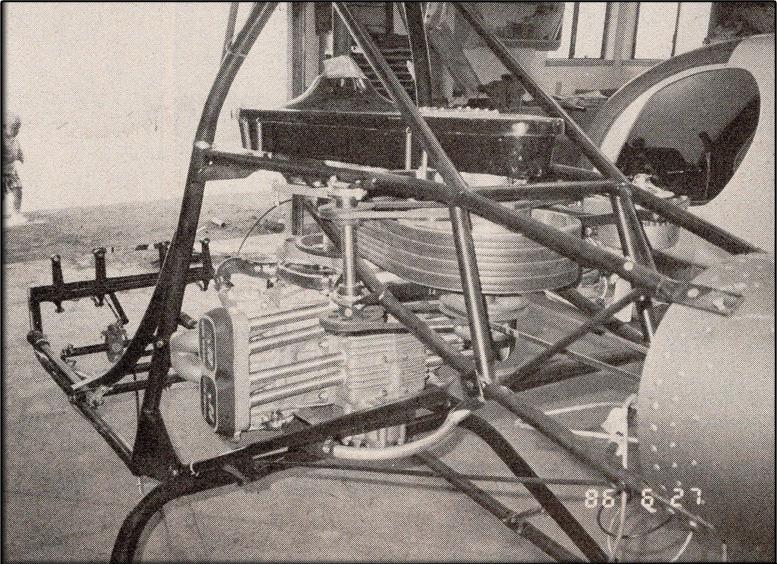 diy vertical helicopter engine airframe