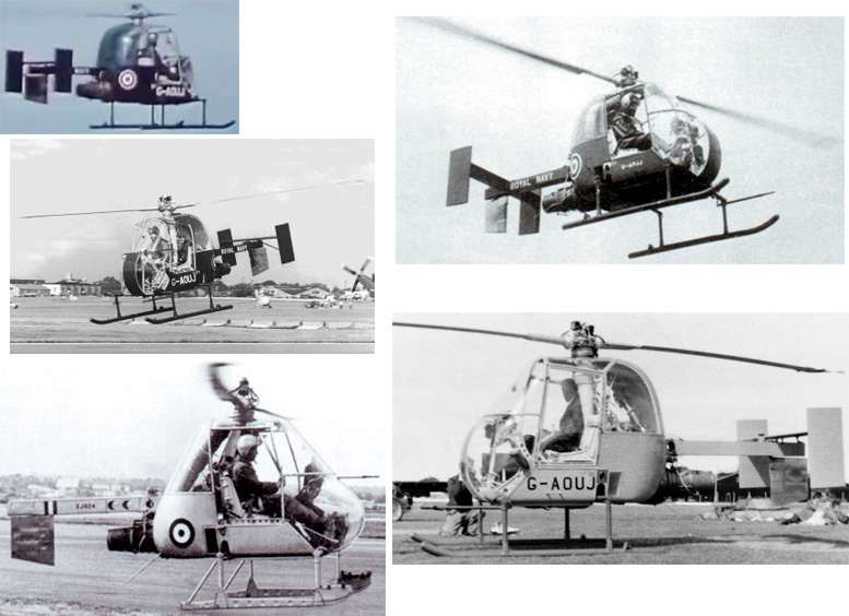 fairey ultralight pressure jet helicopter