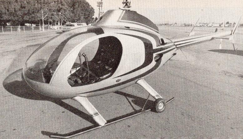 finished kit exec helicopter