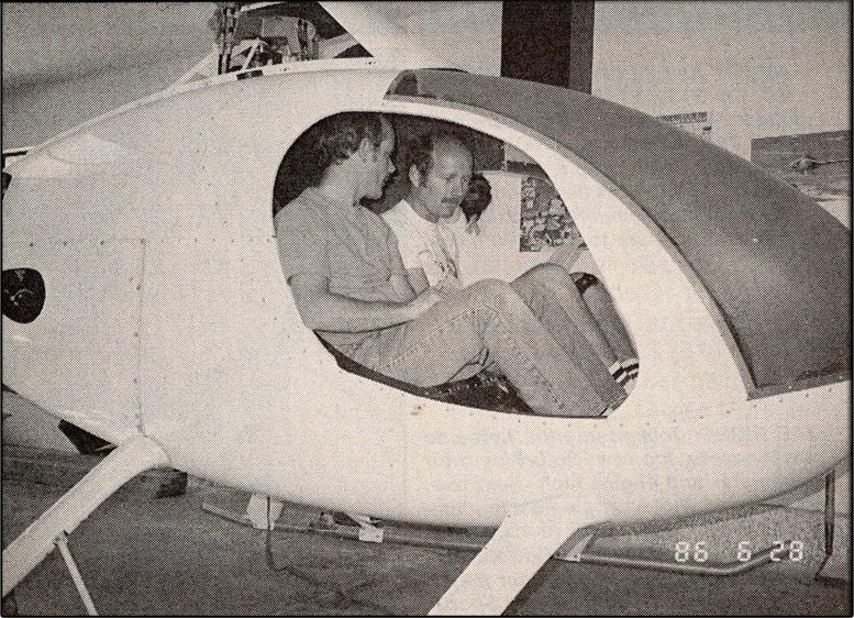 hang testing kit helicopter balance