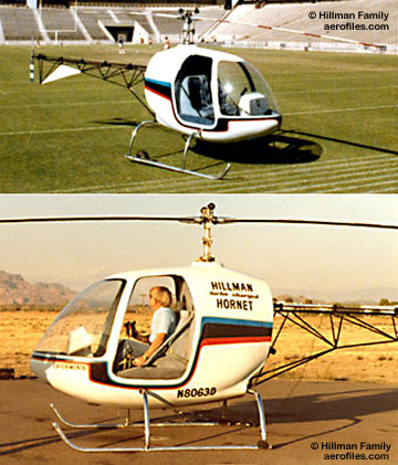 hillman family homebuilt hornet helicopter