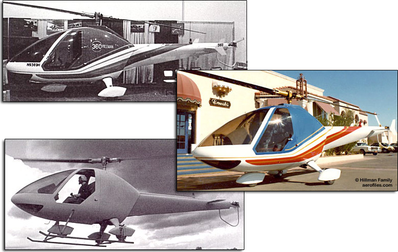 hillman model 360 helicopter