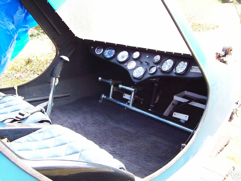 homebuilt scorpion 133 helicopter cabin