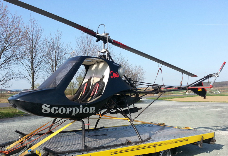 homebuilt scorpion kit helicopter