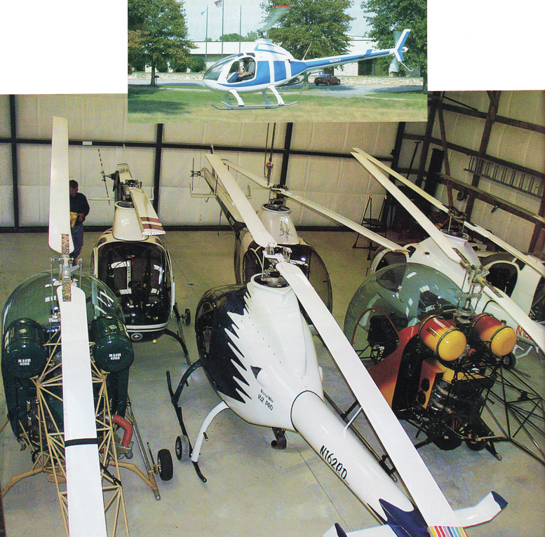 kit built helicopters