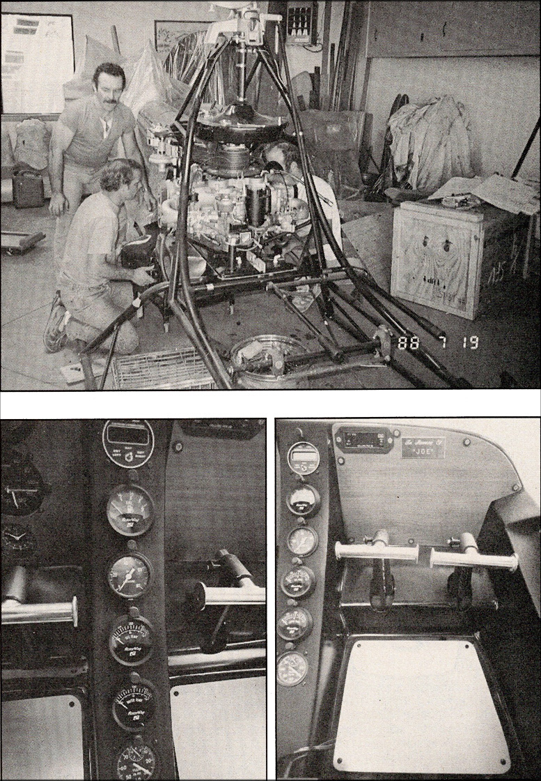 kit helicopter construction sequence