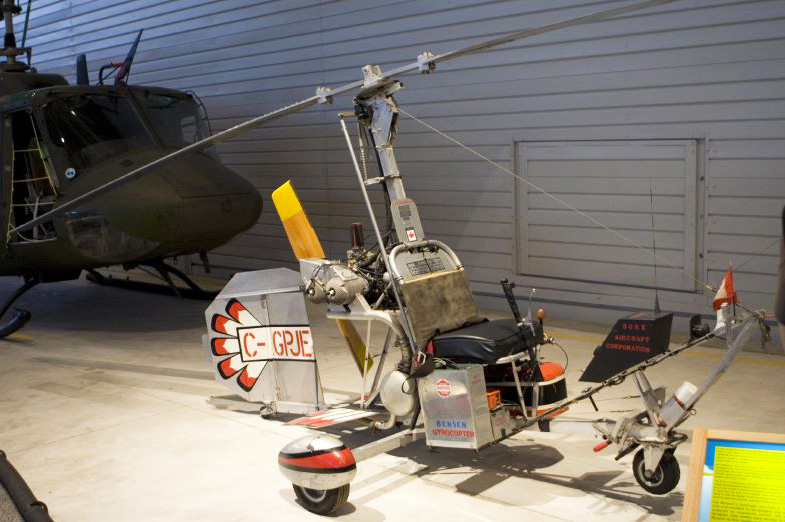 museum Bensen B 8M gyrocopter