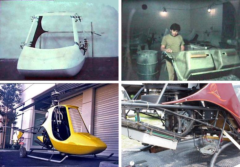 rotorway homebuilt helicopters