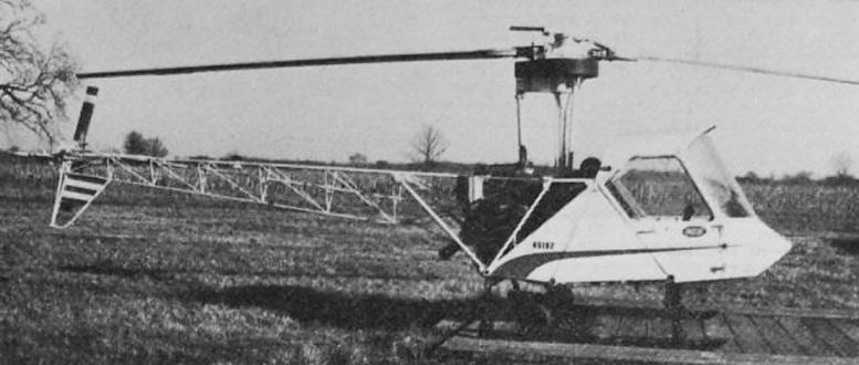 scheutzow model b certified helicopter