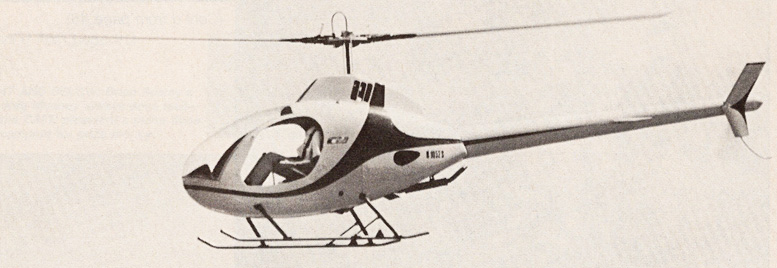 stretch wolter flying rotorway exec helicopter