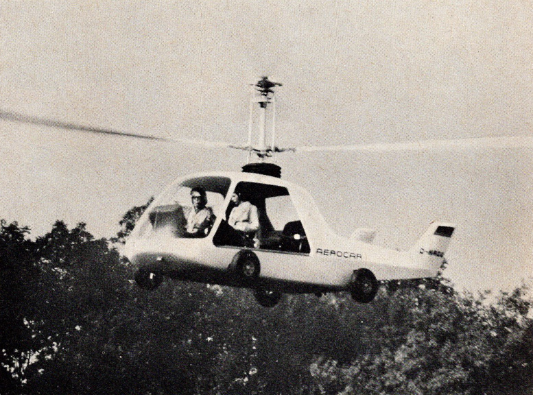 4 place Aerocar Helicopter