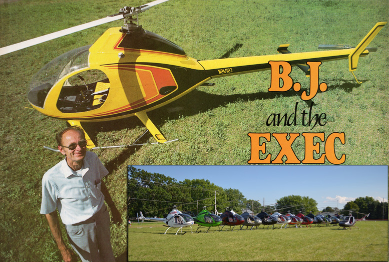 BJ Rotorway Exec helicopter