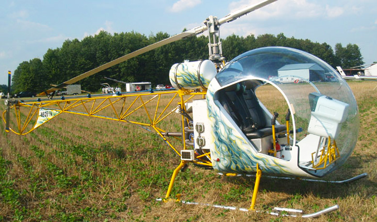 Babybell helicopter