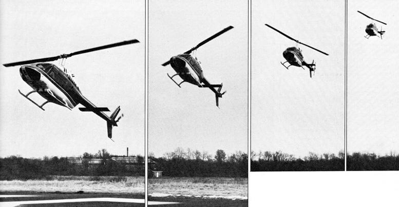 Bell Jetranger 2 flight test report