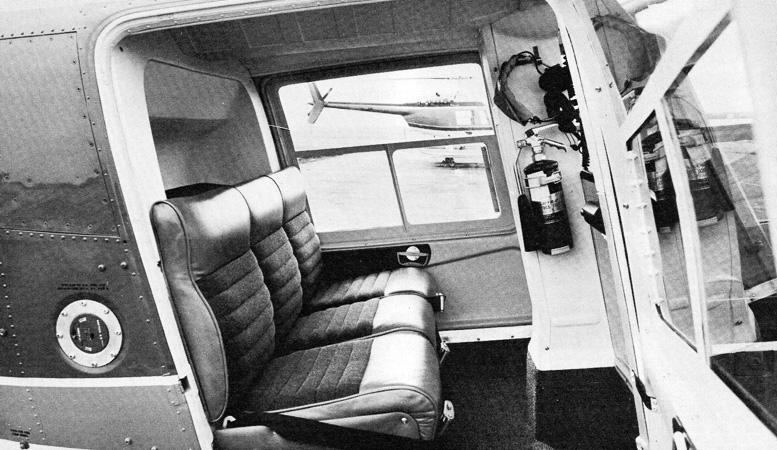 Bell Jetranger seating