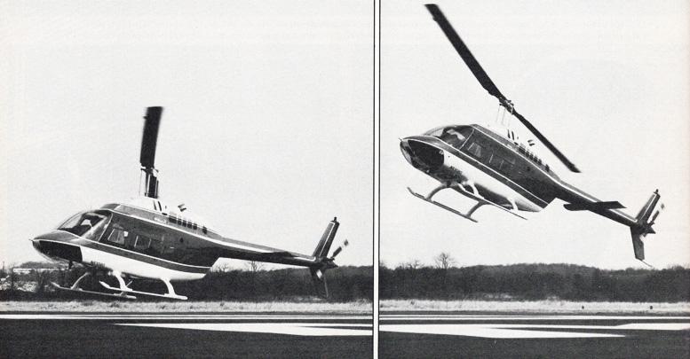 Bell jetranger autorotations