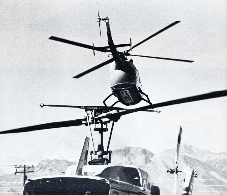 Boeing Bolkow BO-105C helicopter