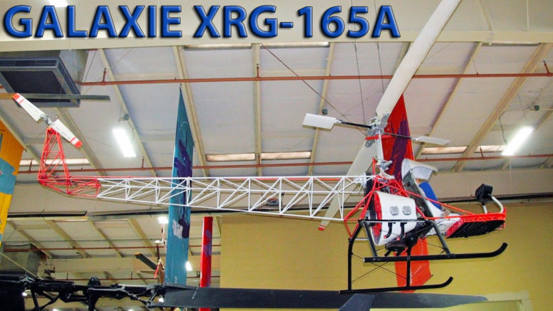 Galaxie XRG-165A helicopter