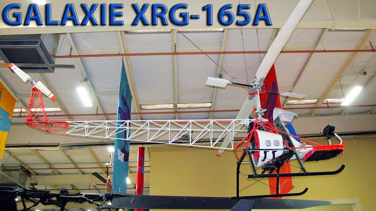 Galaxie XRG-65A Glaticopter Test Lab
