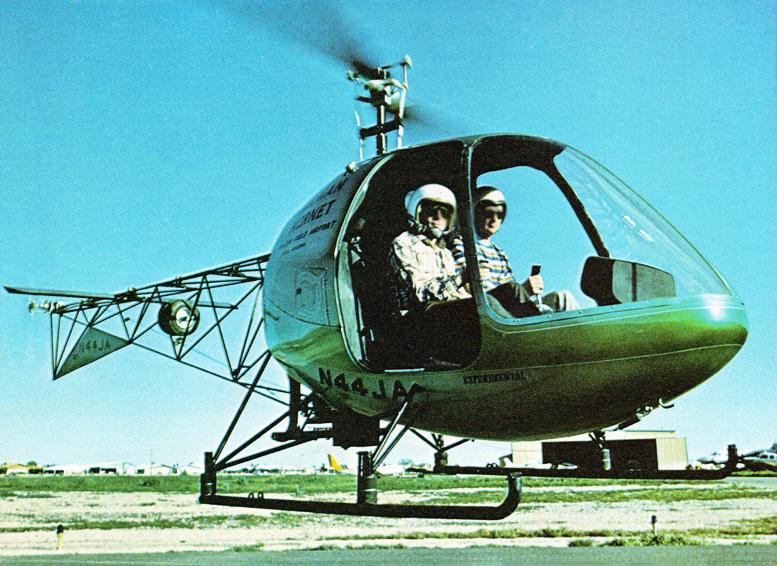 Hornet n44ja experimental helicopter