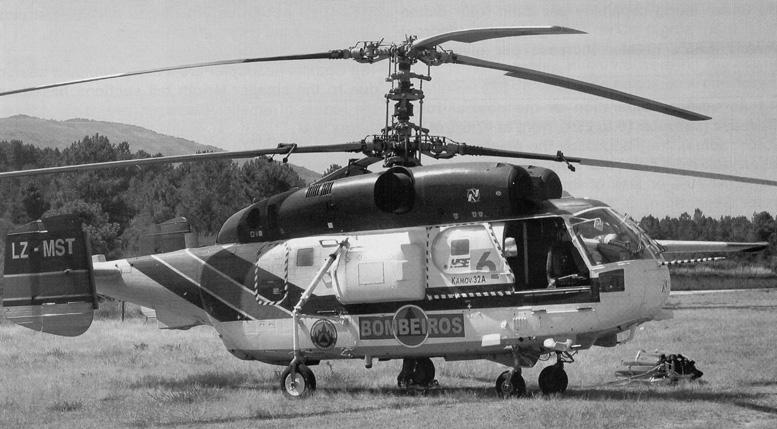 Kamov ka 32 a coaxial helicopter