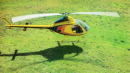 Kit helicopter king B.J. Schramm Rotorway Exec helicopter