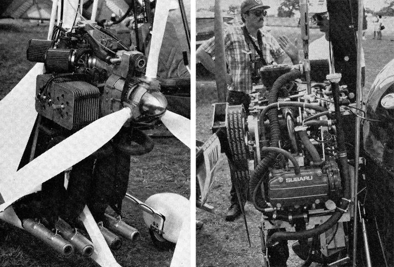 Oshkosh 1991 gyrocopters