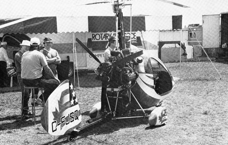 RAF gyroplane Canada Subaru Engine