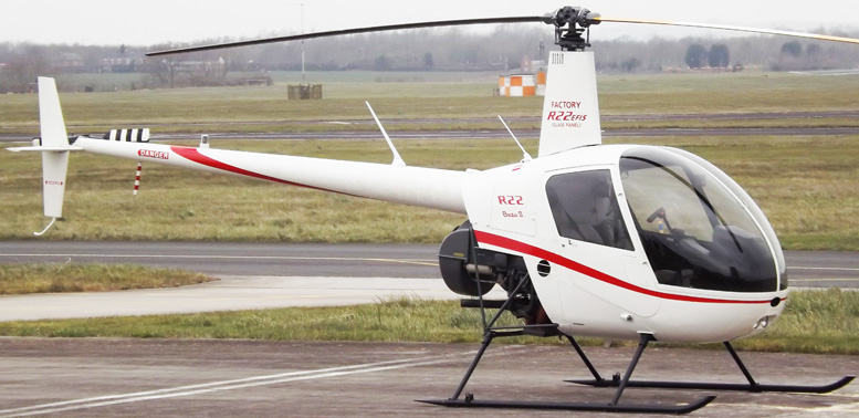 Robinson R22 Helicopter EFIS panel