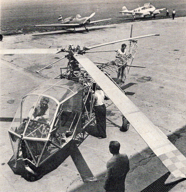 SOH-01 Hungarian Experimental Helicopter