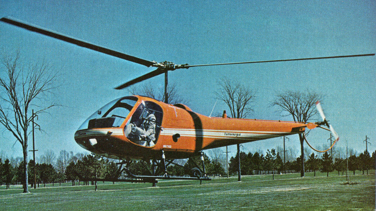 A Helicopter In Every Garage