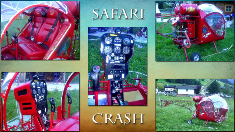 anodized part failure safari kit helicopter