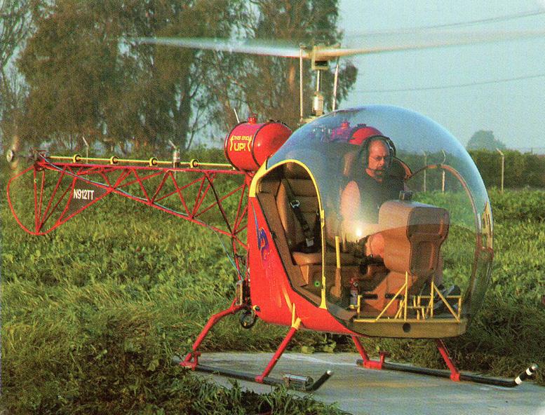 award winning safari helicopter