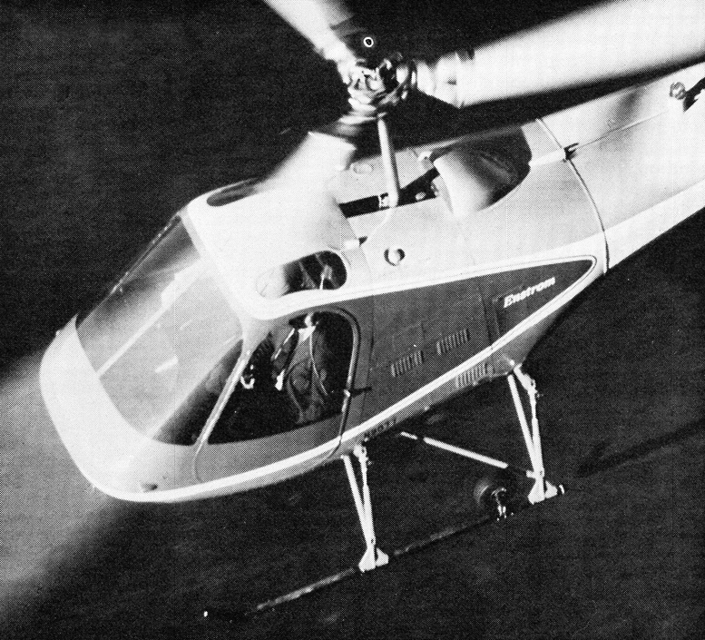 enstrom shark helicopter