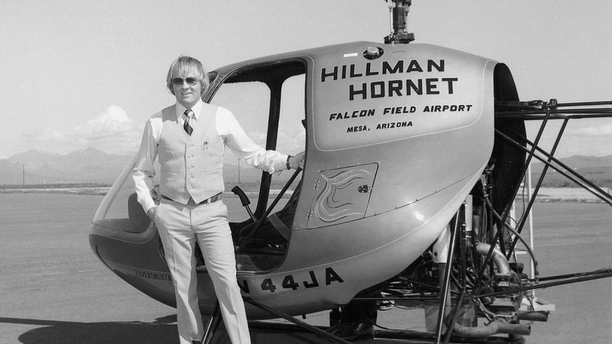 Green Hornet - Hillman Hornet Helicopter