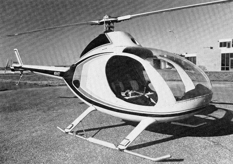 first two seat exec helicopter