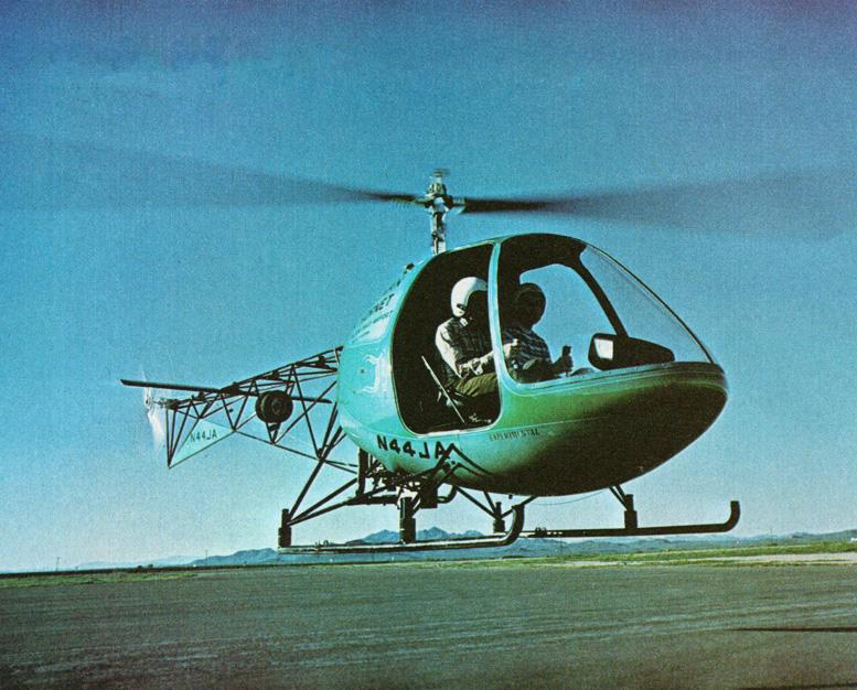 helicom commuter hiller hornet helicopter
