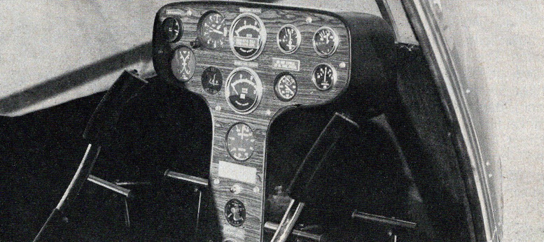 hornet helicopter instrument panel