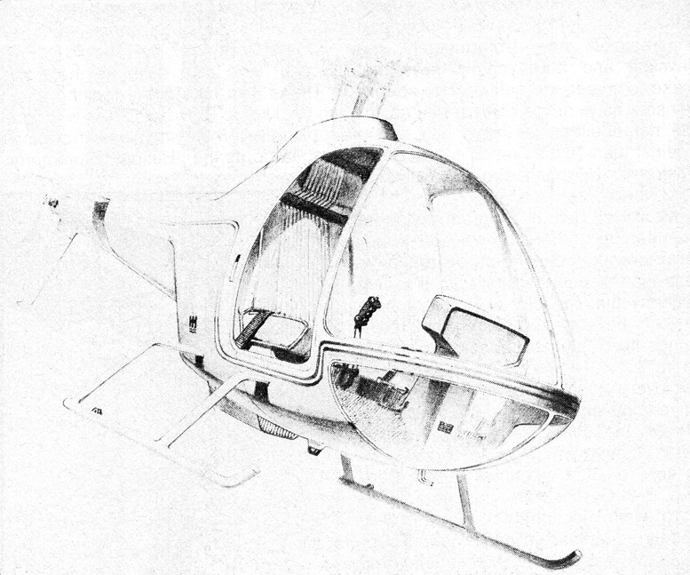 hornet helicopter new tailboom concept