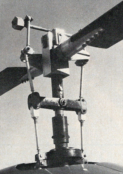 hornet helicopter rotor assembly