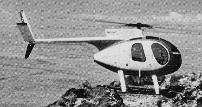 hughes 500c helicopter