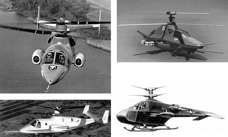 modern military coaxial helicopters