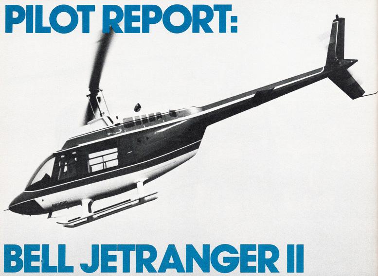 pilot report bell jetranger 2