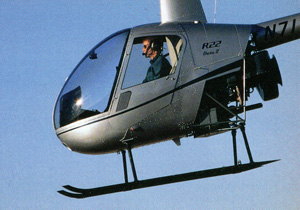 r22 helicopter changes
