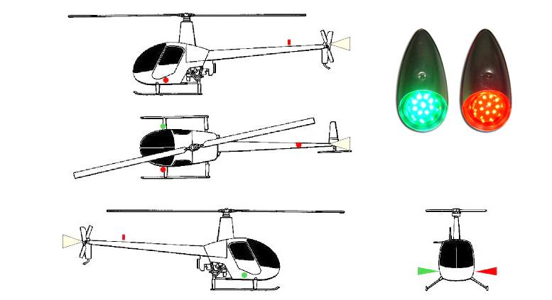 r22 navigation lights
